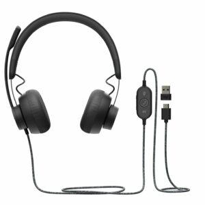 Logitech zone corded USB Headsets